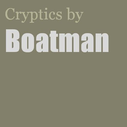 Cryptics by Boatman